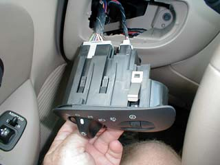 How To Modify The Headlight Switch To Allow Fog Lamps To